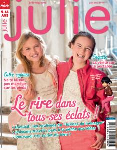Couverture julie avri 2013