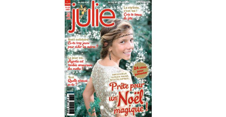 Magazine Julie decembre