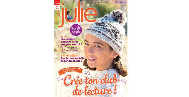 Magazine Julie novembre