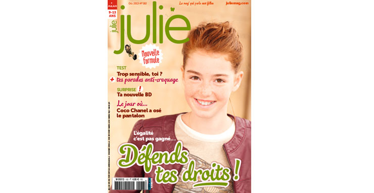 Magazine Julie octobre