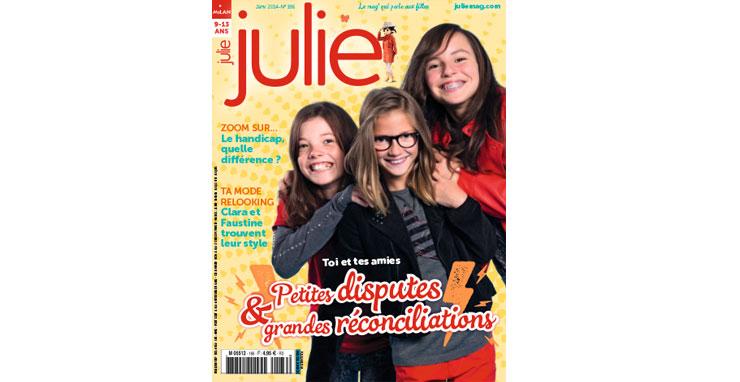 Julie magazine janvier