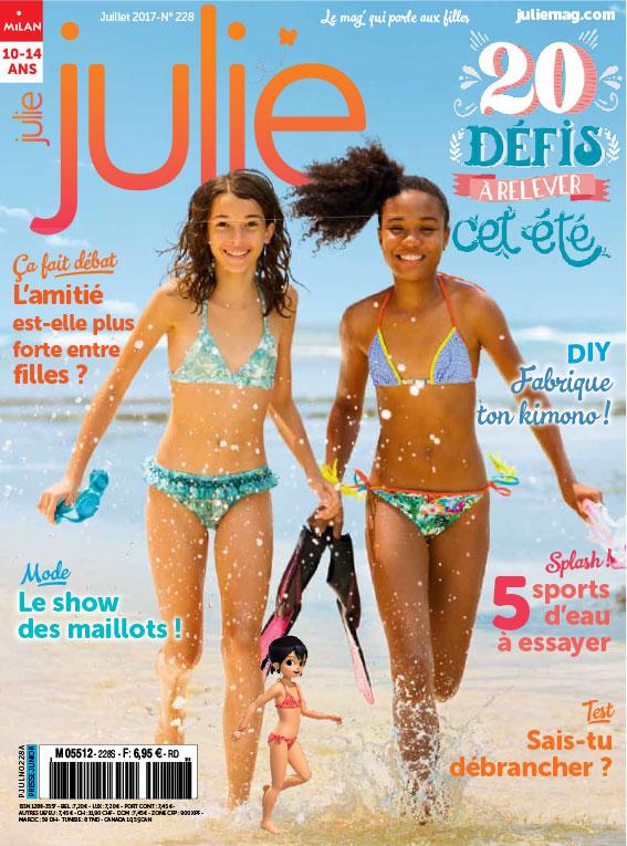 JULIE magazine juillet 2017
