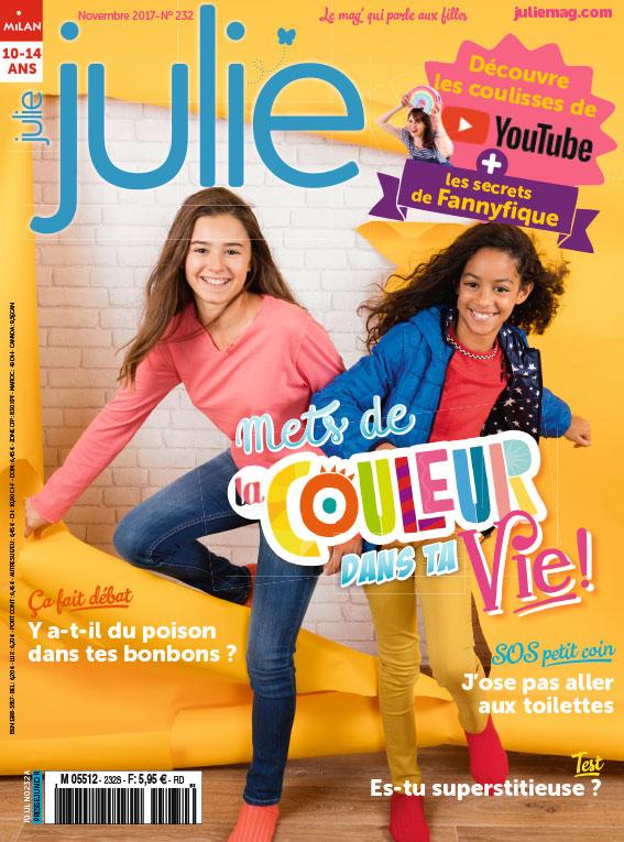 JULIE magazine novembre 2017