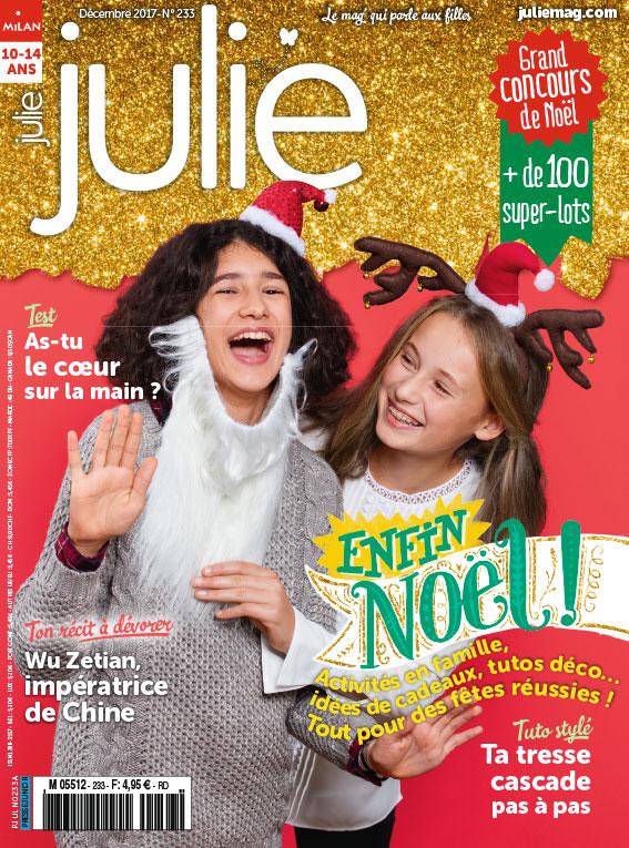 JULIE magazine décembre 2017