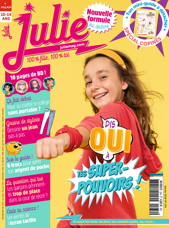 JULIE magazine janvier 2018