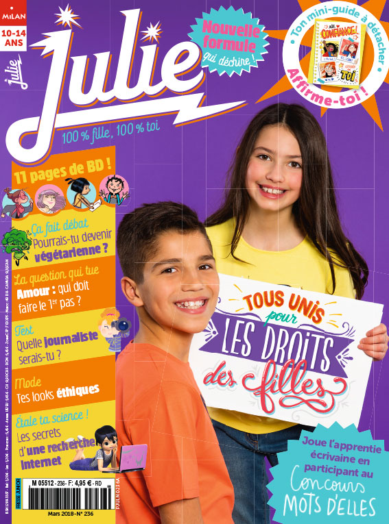 JULIE magazine mars 2018