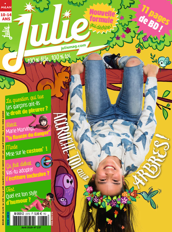JULIE magazine avril 2018