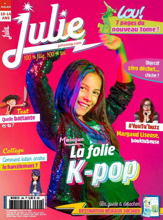 JULIE magazine novembre 2018