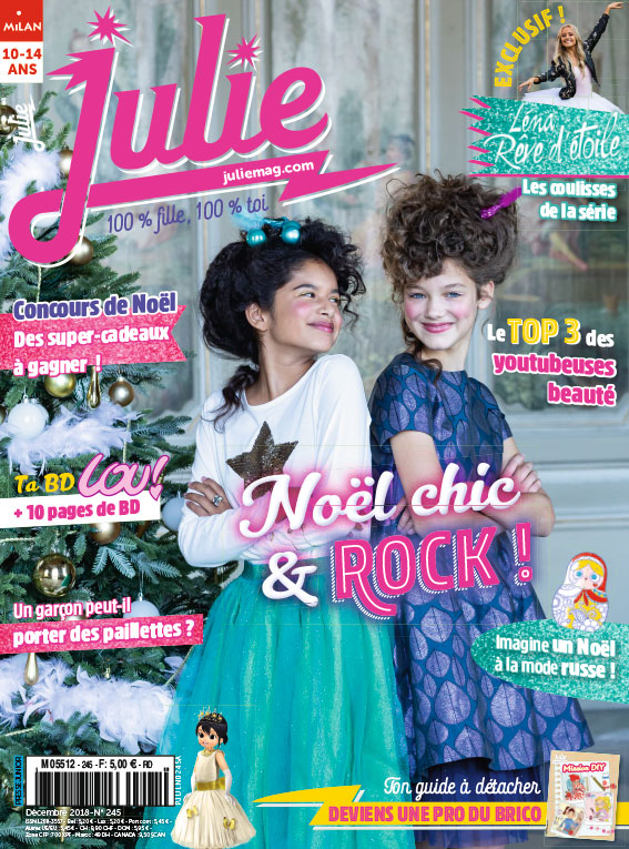 JULIE magazine décembre 2018