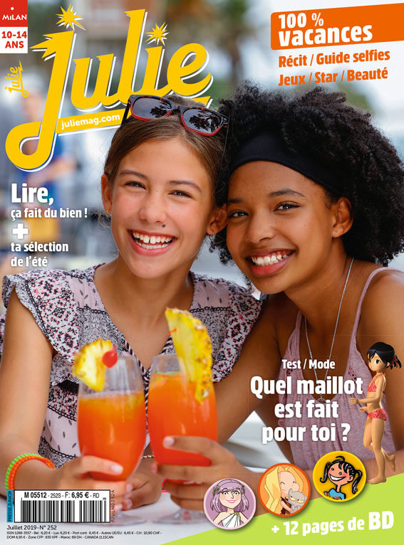 JULIE magazine juillet 2019