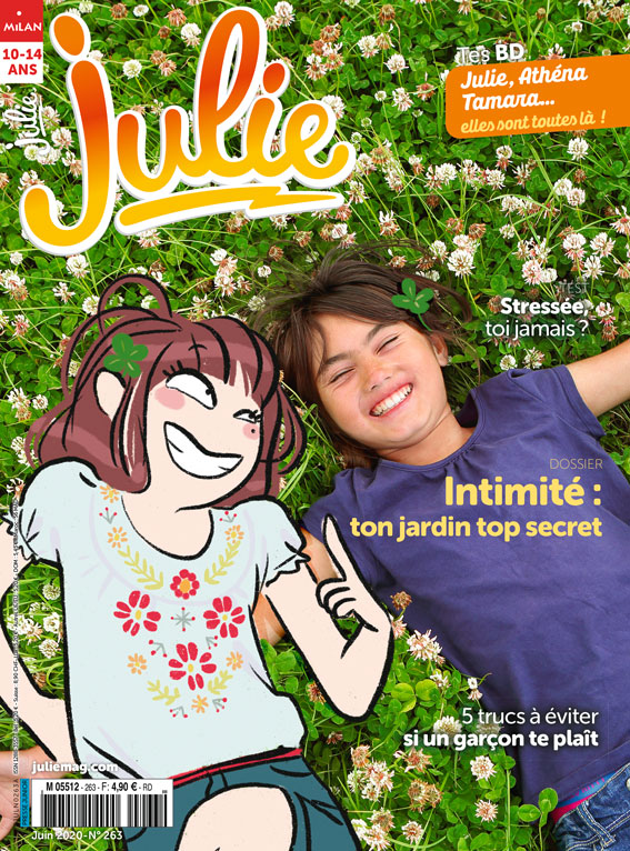 Julie magazine - juin 2020