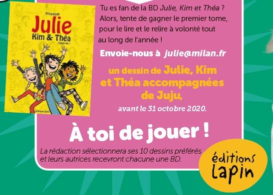 Concours Julie Kim et Théa