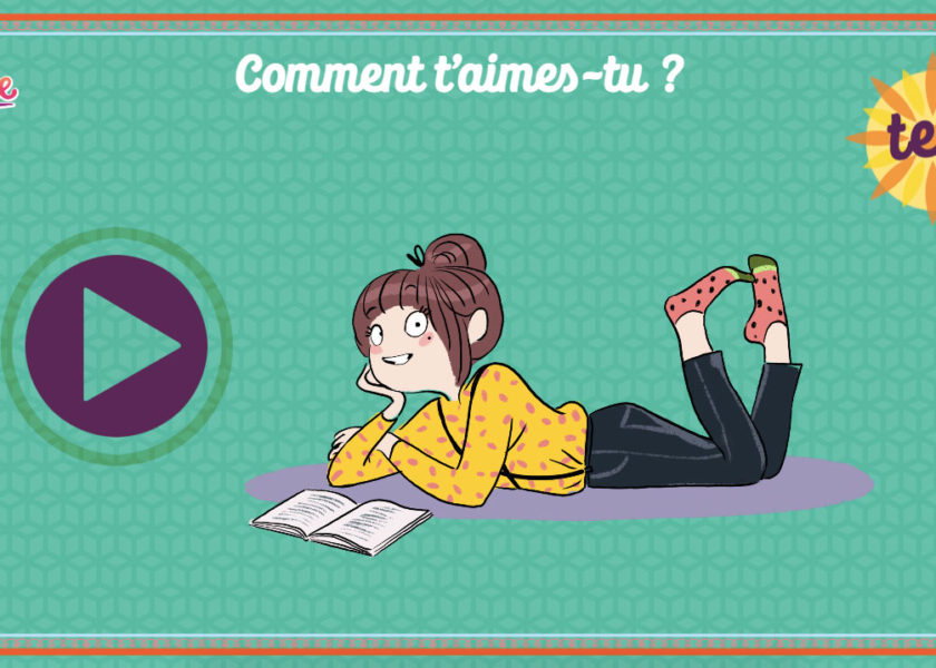 Comment t'aimes-tu ? Test Julie magazine