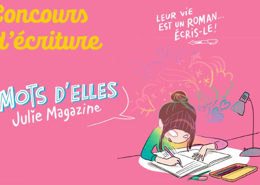 Concours Mots d'elles 2021 - Julie magazine
