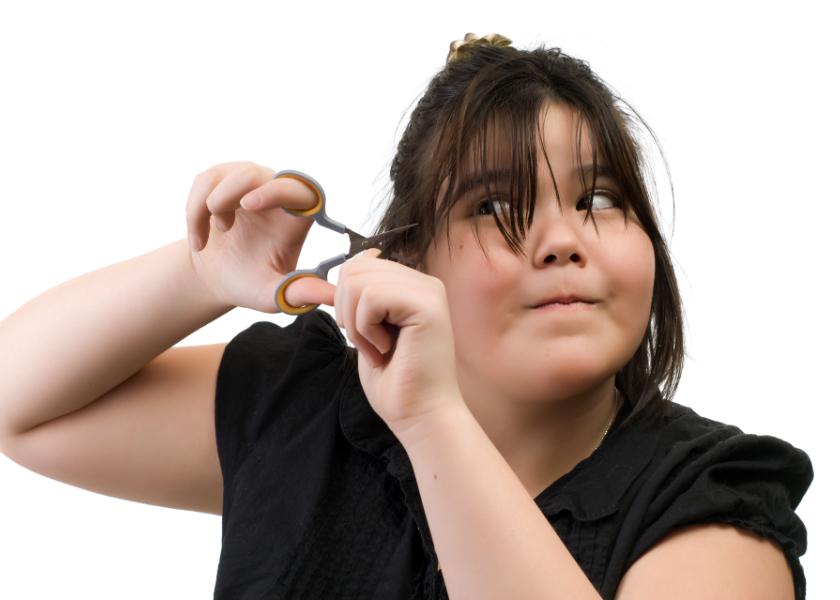 couper cheveux