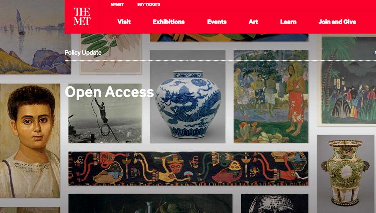 site internet Met NY
