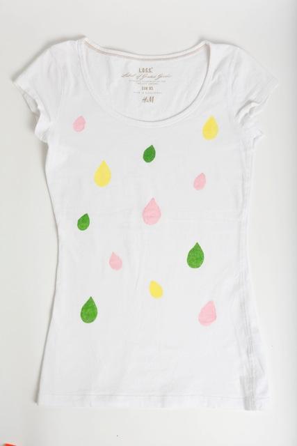 T-shirt goute d'eau