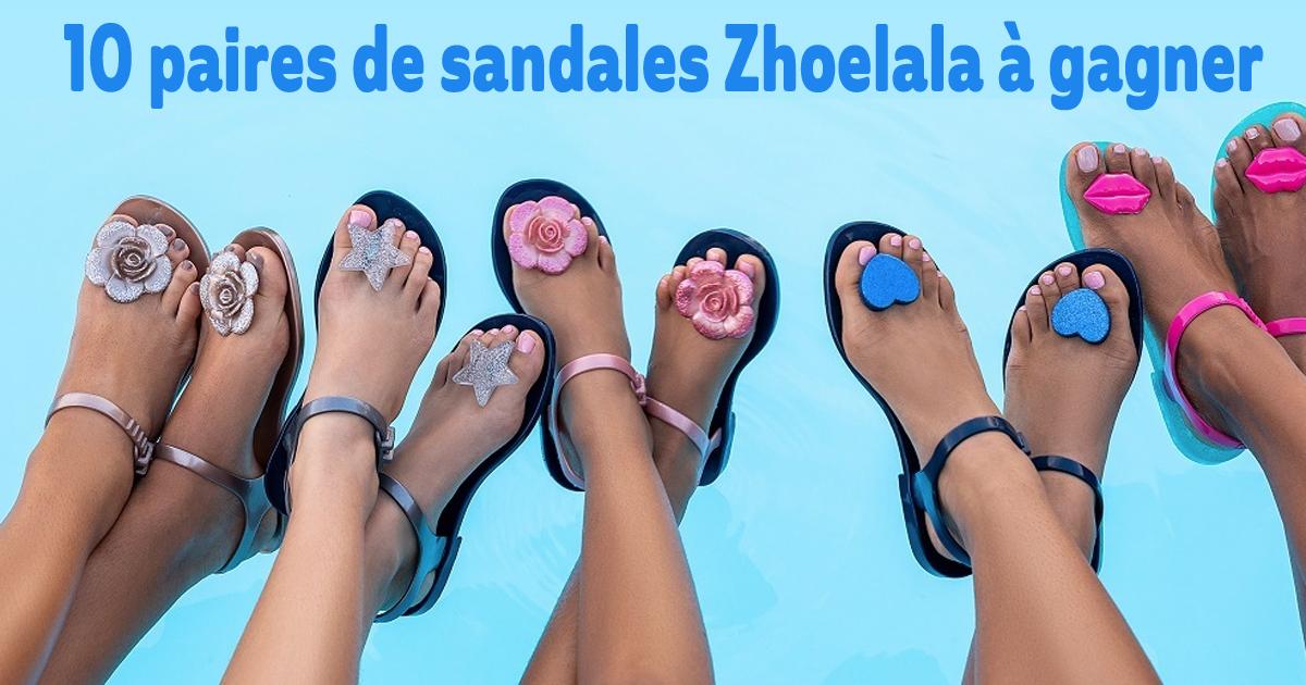 sandales zhoelala