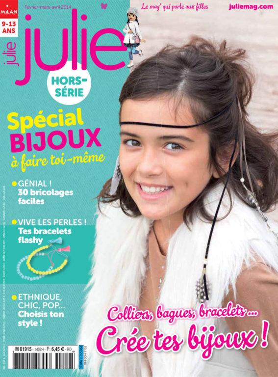 Couverture numéro hors série Julie : Bijoux