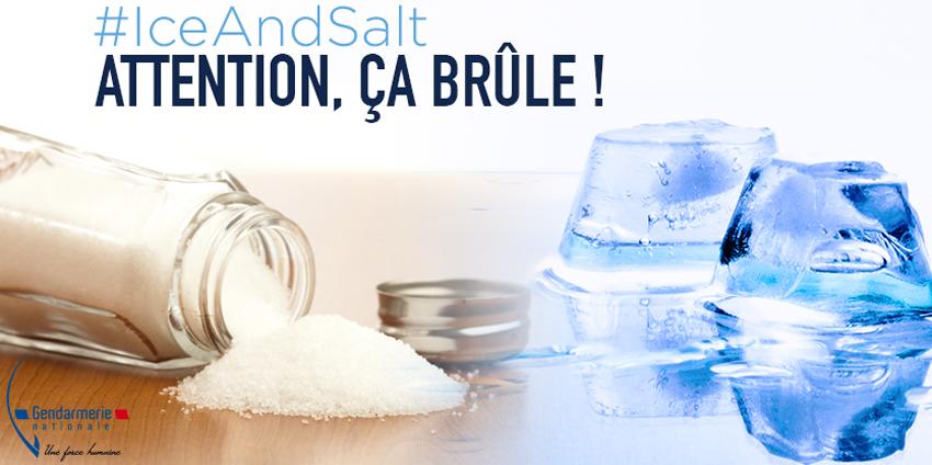 Ice And Salt Challenge