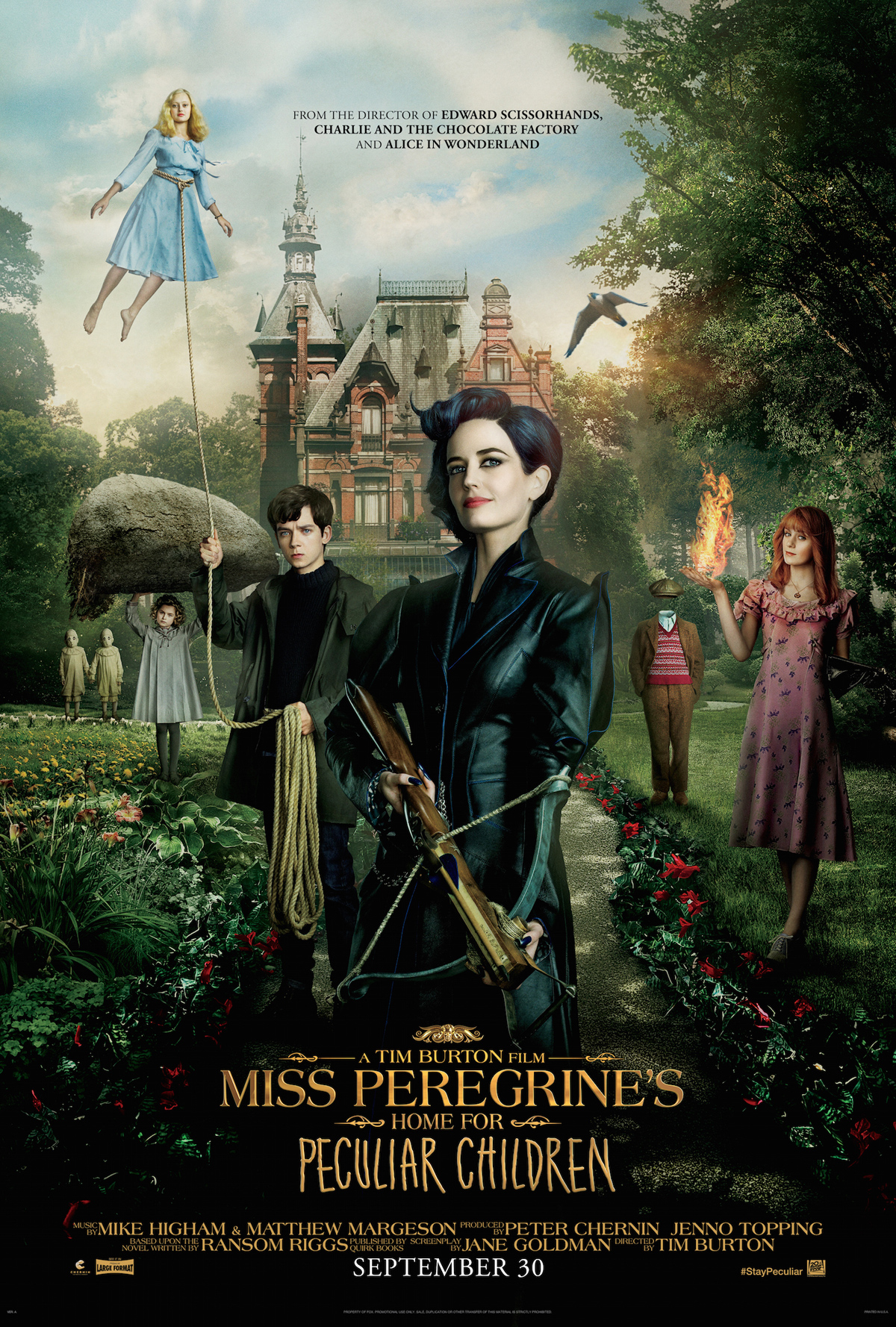 Miss Peregrine selection culturelle octobre