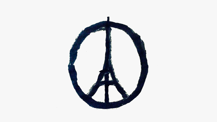 logo peace for paris